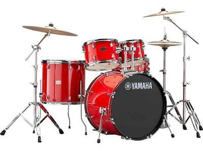 "Yamaha Rydeen 5-Piece Shell Kit - 22"" Bass Drum - Hot Red"