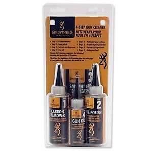 Gun Care Prepack 4-Step Gun Cleaner - Quickly Removes Carbon Build Up