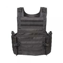 Voodoo Tactical Armor Carrier Vest with Adjustable Padded Shoulder Supports