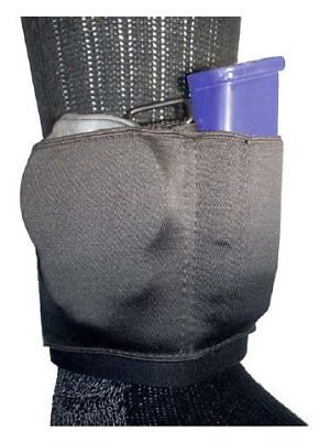 Gould & Goodrich Ambidextrous Black Ankle Carrier for Cuff and Magazine