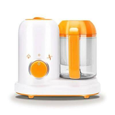Baby Food Maker, 4 In 1 Steam Cooker, Blender Safe Reheat And Defrost BPA Free