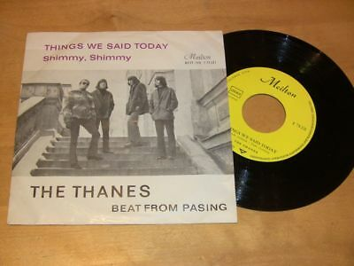 2/2L The Thanes ( Beat from Pasing) - Things We Said Today-Shimmy,Shimmy (EX+)
