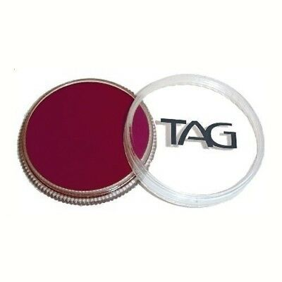 32g TAG Professional Face Paint Regular Colour ~ Berry Wine. Delivery is Free