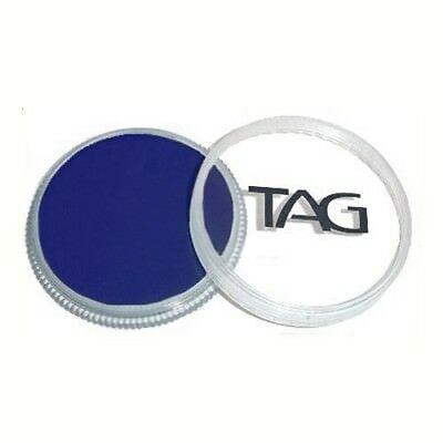 32g TAG Professional Face Paint Regular Colour ~ Dark Blue. Free Shipping