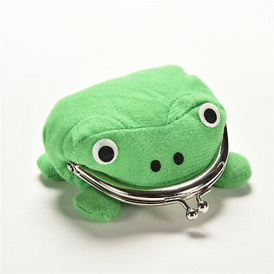 Uzumaki Naruto Frog Shape Cosplay Coin Purse Wallet Soft Furry Plush Gift BLFD