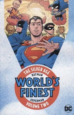 Batman & Superman In Worlds Finest The Silver Age Vol 2 Reps #95-116 New