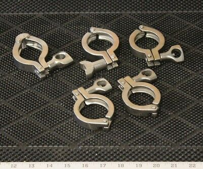 "Assorted 1.5"" Tri Clamps"