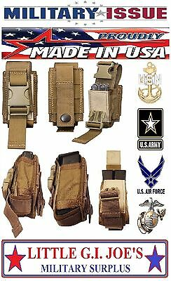 1 Military MOLLE II Single 40mm Pouch / 9mm Mag Pouch / Gerber Tool Pouch