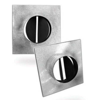 NECK ADAPTER FOR DUCT SQUARE CELILING  DIFFUSER LD4 Model: NA-LD-STR-Y 150x150