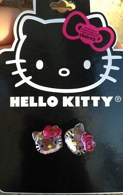 Claire's New Hello Kitty Earrings Brand New!!!