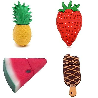 16GB 32GB Pendrive Fruit Watermelon Pineapple Ice USB Flash Drive Memory Stick