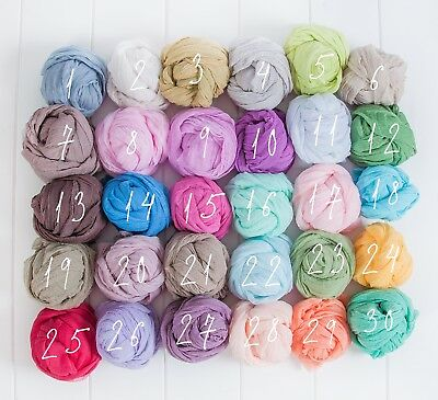 Newborn baby infant boy girl wraps swaddle Cheesecloth grade 50,photography prop