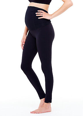 NEW - Ingrid & Isabel - Active Leggings w Crossover Panel - Maternity Leggings