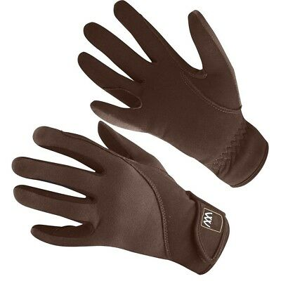 (Size 9.5, Brown) - Woof Wear Precision Riding Glove. Delivery is Free