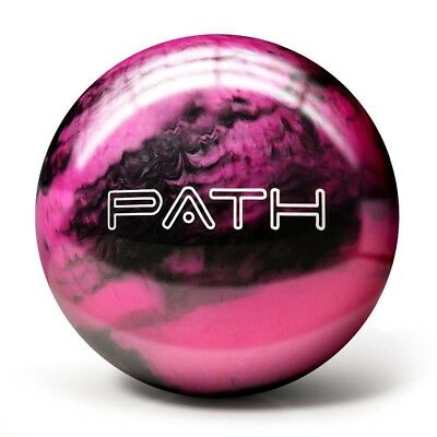 (3.6kg, Pink/black) - Pyramid Path Bowling Ball. Delivery is Free