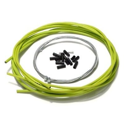 (Green) - Aulola® Front and Rear Inner Outer Wire Gear Brake Cable Set
