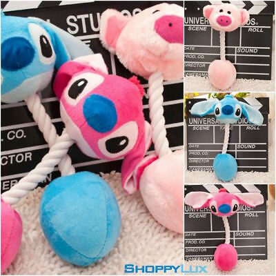 Soft Pets Plush Toy Stuffed Cartoon Animal Design for Pet Dog Squeaky Biting Toy