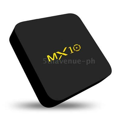 MX10 Android 9.0 TV BOX RK3328 Quad Core USB3.0 2.4G WiFi 4K Media 4G+32G N1G8