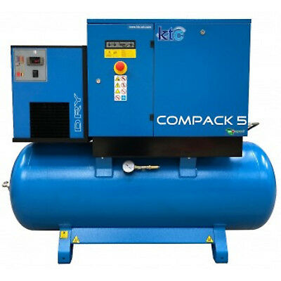5.5kw Rotary Screw Compressor with or without Abac Dryer price inc vat @ 20%