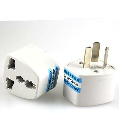 Universal US/UK/EU Adapter to AU AC Power Australia Plug Travel 3 pin Converter