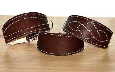 Leather Greyhound dog collar saluki whippet borzoi basenji puppy