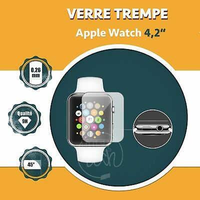 LOT X1 À X20: ViTRE PROTECTION VERRE TREMPÉ PROTECTEUR ÉCRAN APPLE WATCH 4.2""