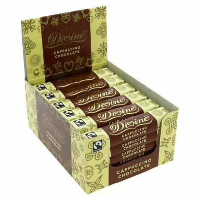 DIVINE | Cappuccino Bar Fairtrade | 5 x 35g