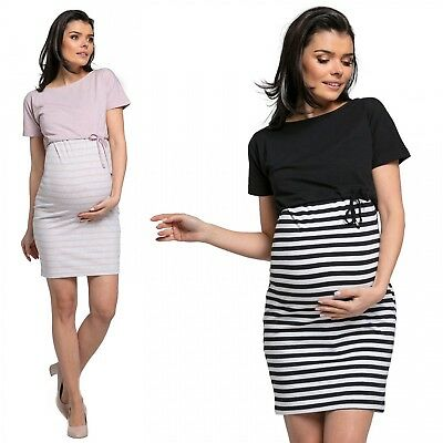 Happy Mama. Women's Nursing Two Piece Dress Separate Top Pregnancy. 127p