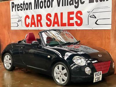 Daihatsu Copen 0.66 Roadster 74K ELECTRIC ROOF RED LEATHER ALLOYS