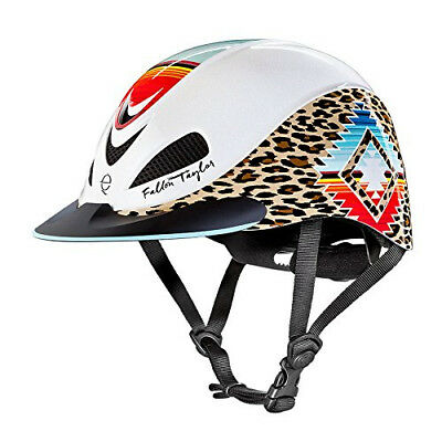 (Medium, Pearl Leopard) - Troxel Fallon Taylor Performance Helmet. Best Price