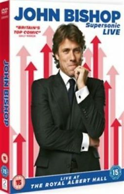 JOHN BISHOP SUPERSONIC LIVE. The Royal Albet Hall. Brand new sealed DVD.
