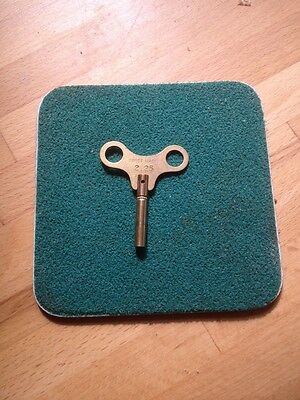 Clock winding key size 2.25 No 0 SWISS MADE  Lots of Sizes in Stock in my shop