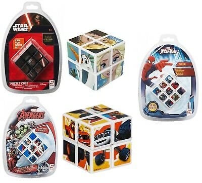 Kids Puzzle Cube,Magic Cube Square Puzzle Spiderman,Starwars,Blaze Activity Toy