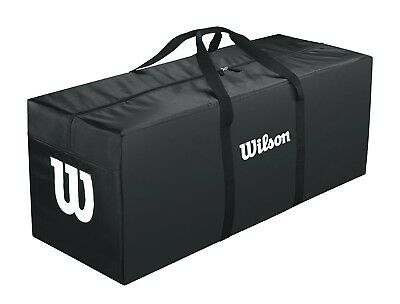 (Black) - Wilson Equipment Bag. Free Delivery