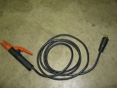 Stick ARC Welder Electrode Holder Cable Lincoln Electric 9' long, new-old stock