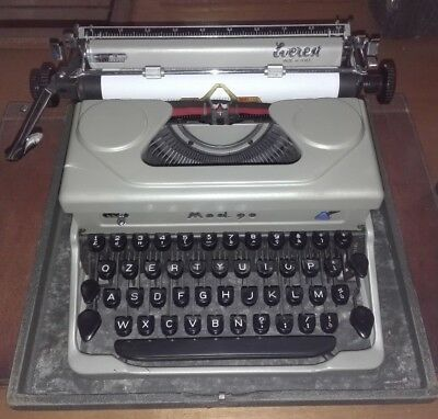 EVEREST Mod. 90 MACCHINA PER SCRIVERE del 1937 OLD TYPEWRITER NO OLIVETTI