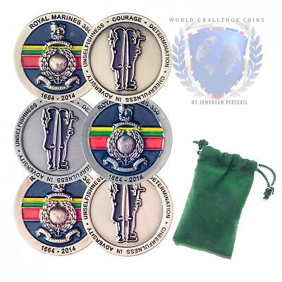 Royal Marines 350 Spoof Coins Set