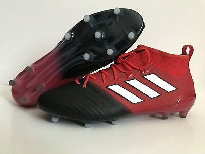 huge discount 6ddfe 4d48b MENS ADIDAS ACE 17.1 Primeknit FG Red/White/Black Soccer Cleats BB4316 Size  13