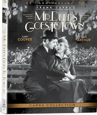 Mr Deeds Goes To Town (80th Anniversary Edition) 0433964 (Blu-ray Used Like New)
