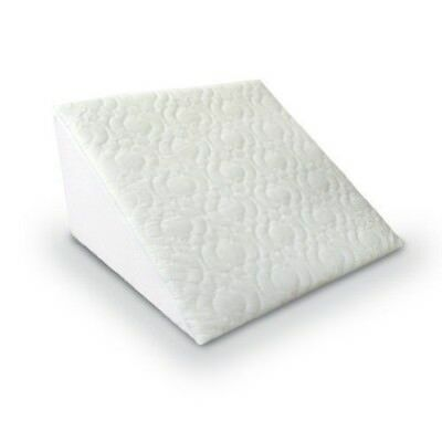 Orthopaedic Bed Wedge Pillow with Quilted Cover Reflux Foam Back, legs Support