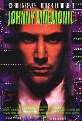 69214 Johnny Mnemonic Keanu Reeves, Dolph Lundgren Wall Print Poster Affiche