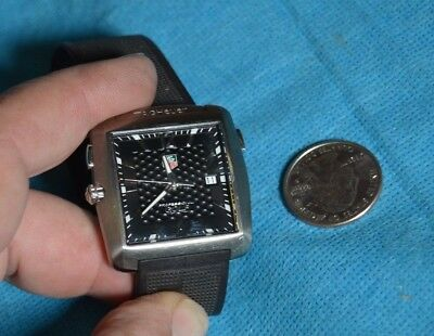 Tag Heuer Sapphire Crystal Professional Golf Watch Tiger Woods Limited Edition
