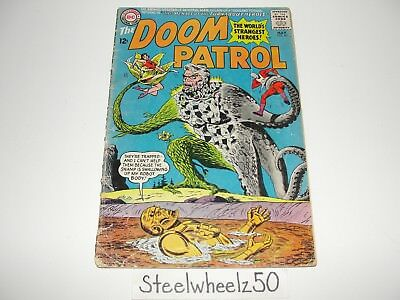 Doom Patrol #95 Comic DC 1965 Chief Elasti-Girl Robotman Negative Man Bob Brown