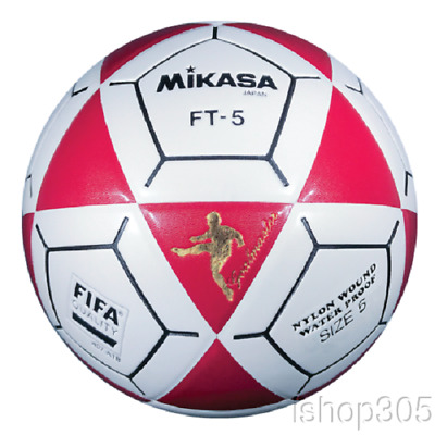 Mikasa FT5 Goal Master Soccer Ball Size5 Orange//Yellow Official Footvolley Ball