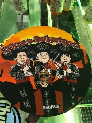 Three Amigos Mouse pad Dab mat *Authorized Dealer*