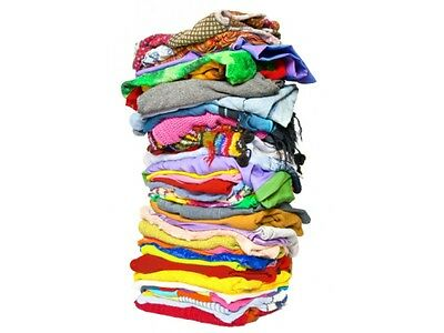 Job Lot of 50 (Used) Mixed Age - Girls Clothes  - 0-6 Years