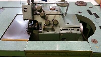 Yamato Model Z, Safety Stitch, Overlock Industrial Sewing Machine, 110 volts