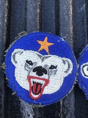 WW2 Alaskan Defense Command Military Patch Very Old - lot of (4)