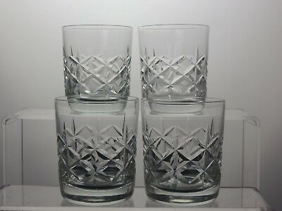 Cut Glass Crystal Tumblers Tumblers Set Of 4