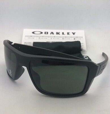 8ef8681746 New OAKLEY Sunglasses DOUBLE EDGE OO9380-0166 Matte Black Frame w  Grey  Lenses